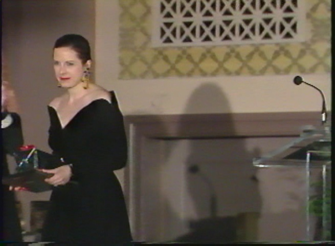 Barbara, Direct Marketer of the Year 1991 Toronto wearing her Scassi (4)
