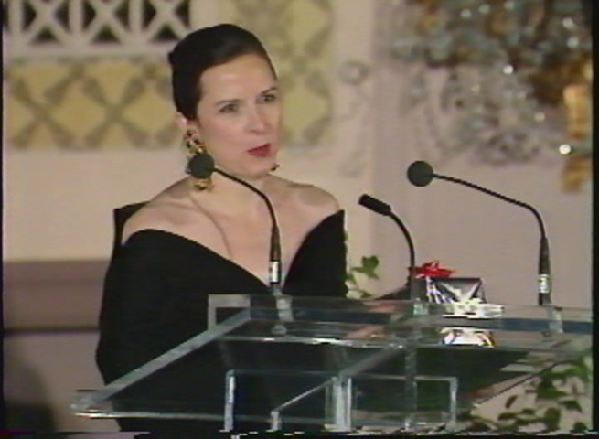 Barbara, Direct Marketer of the Year 1991 Toronto wearing her Scassi (9)